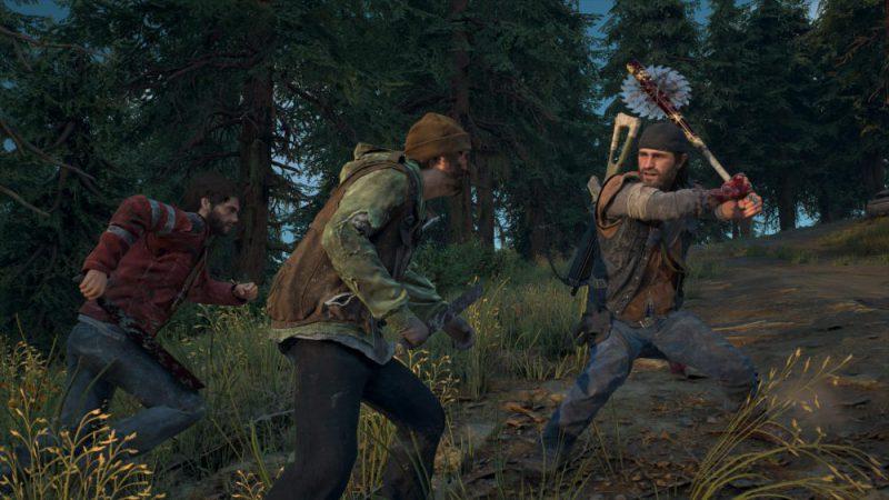 Days Gone PlayStation 4 Pro PS4 Action Exclusive Bend Studio Survival Zombie Deacon Review Test Kritik Axtschläger