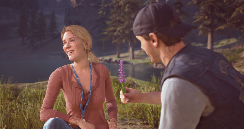 Days Gone PlayStation 4 Pro PS4 Action Exclusive Bend Studio Survival Zombie Deacon Review Test Kritik Flashback
