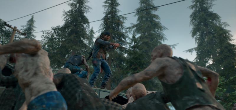Days Gone PlayStation 4 Pro PS4 Action Exclusive Bend Studio Survival Zombie Deacon Review Test Kritik Freaker