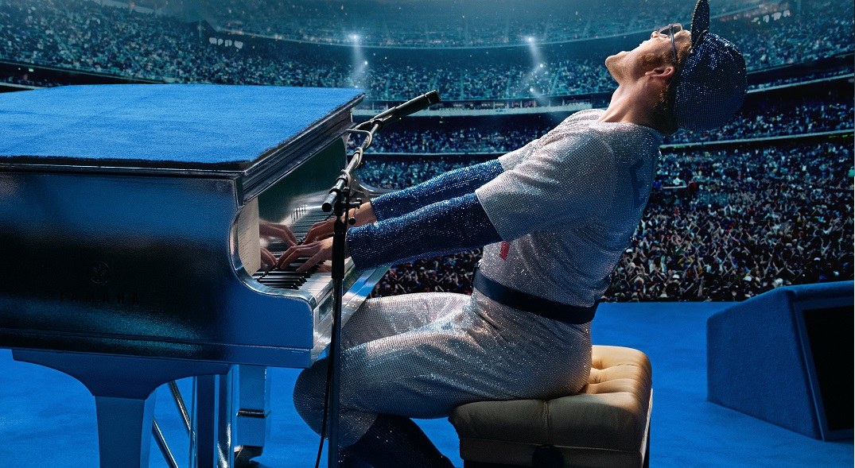 Rocketman Taron Egerton Elton John Paramount Pictures Kino Musik Biopic Review Test Kritik OV Titel