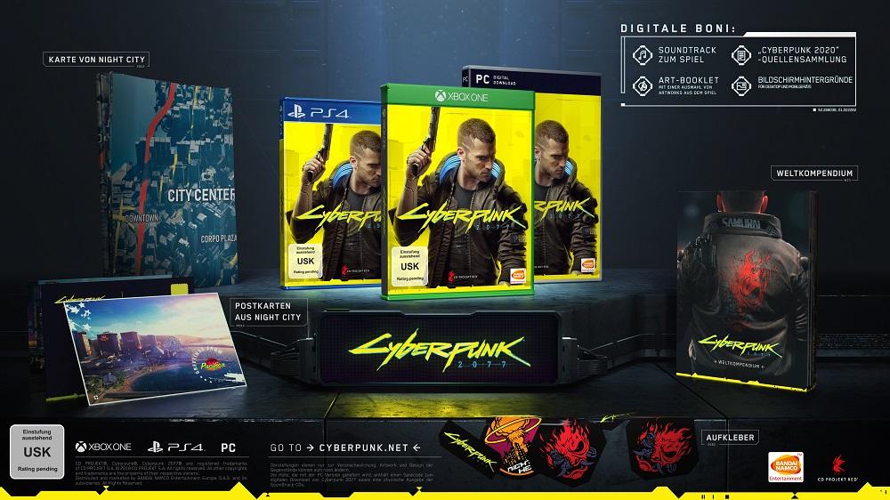 Cyberpunk 2077 Erscheinungstermin Release E3 2019 Xbox CD Projekt Red Standard
