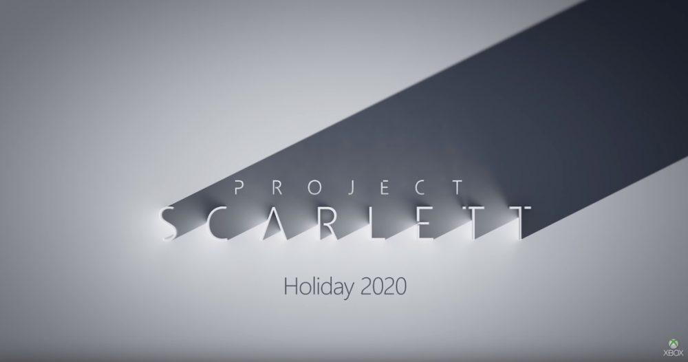 Project Scarlett Xbox Next Xbox Scarlett Next Gen Microsoft E3 2019 Titel