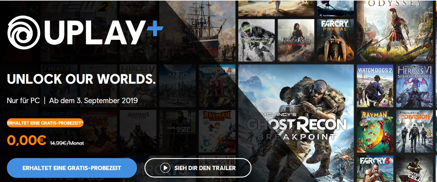 Uplay+ Ubisoft E3 2019 Pressekonferenz Watch Dogs 3 Watch Dogs Legion Electronic Entertainment Expo Titel
