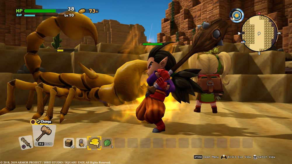Dragon Quest Builders 2 DQ Builders 2 Square Enix Omega Force Review Test Kritik PlayStation 4 PS4 Xbox One X Nintendo Switch Kampf