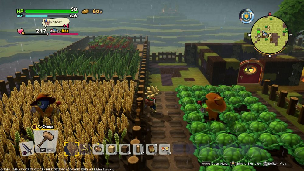 Dragon Quest Builders 2 DQ Builders 2 Square Enix Omega Force Review Test Kritik PlayStation 4 PS4 Xbox One X Nintendo Switch Landwirtschaft