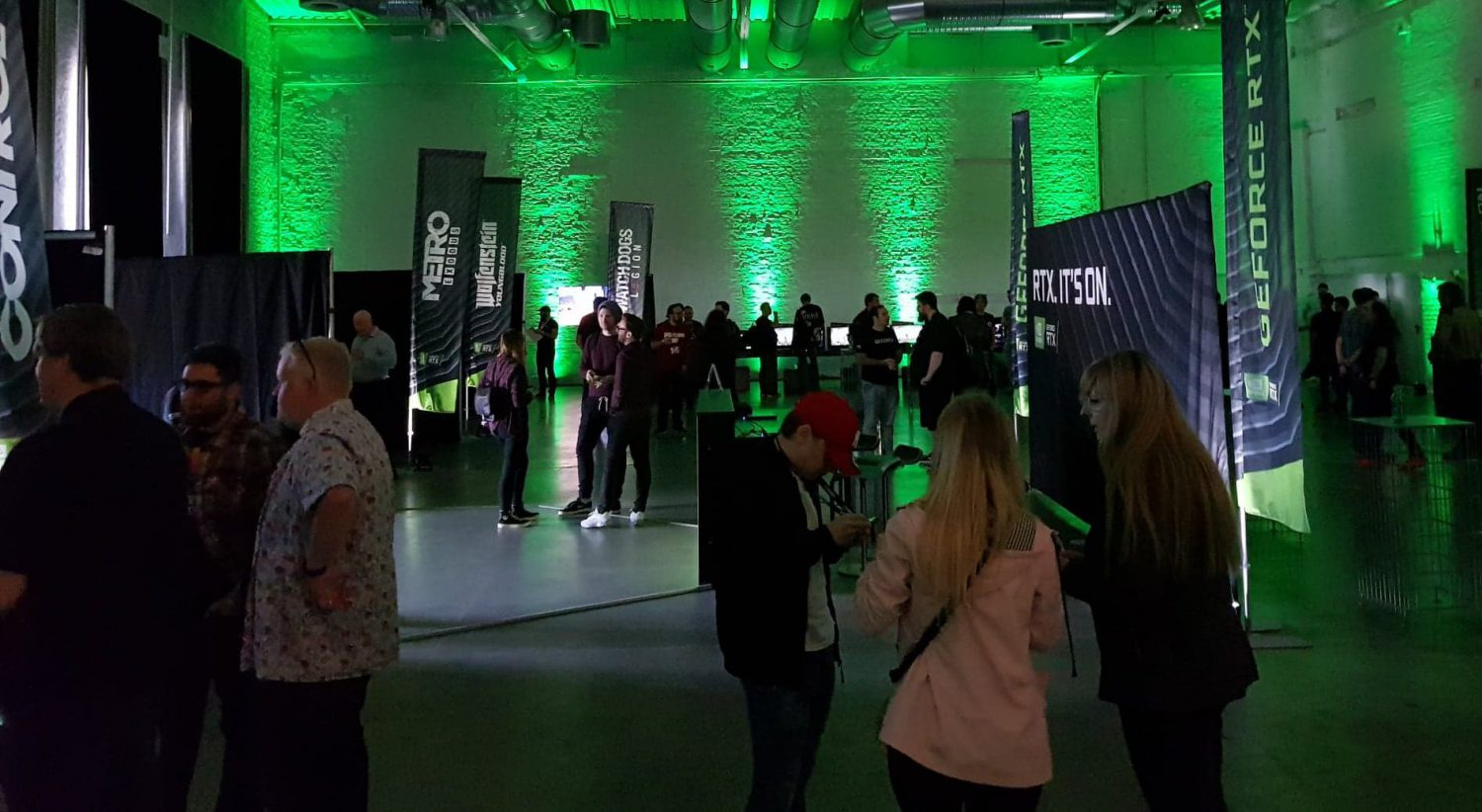 NVIDIA RTXon RTX ITS On Control Watch Dogs Legion Synced Off Planet Minecraft RTX Event