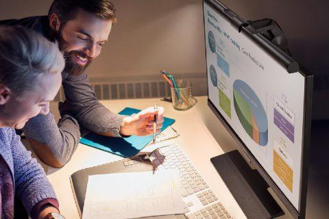 BenQ ScreenBar Schreibtisch Lampe Licht Beleuchtung Bildschirm Monitor Gaming Büro Test Review Kritik Titel