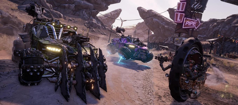 Borderlands 3 2K Games Gearbox Fl4k Moze Amara Zane Claptrap Review Test Kritik Fahrzeuge