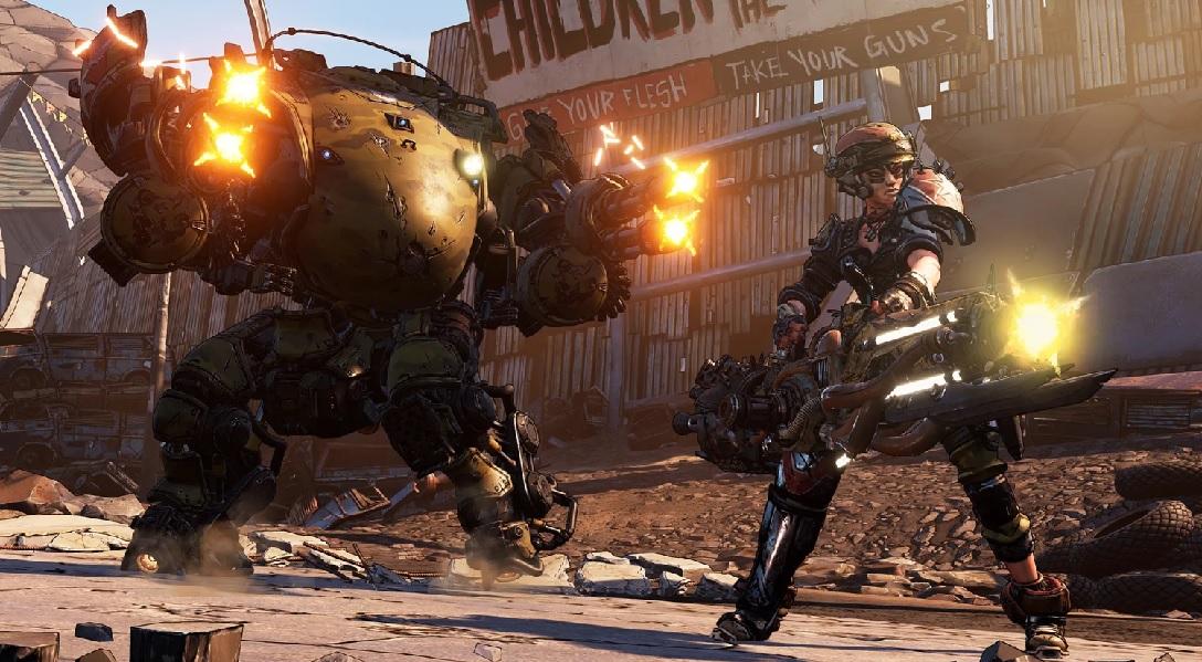 Borderlands 3 2K Games Gearbox Fl4k Moze Amara Zane Claptrap Review Test Kritik Moze