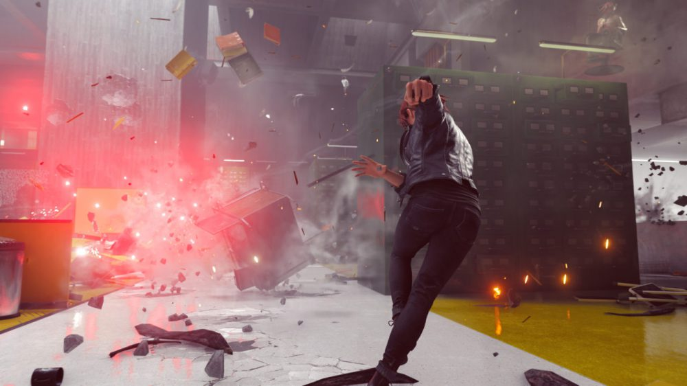 Control Remedy 505 Games Review Test Kritik Shooter PlayStation 4 Pro Xbox One X Titel Partikel