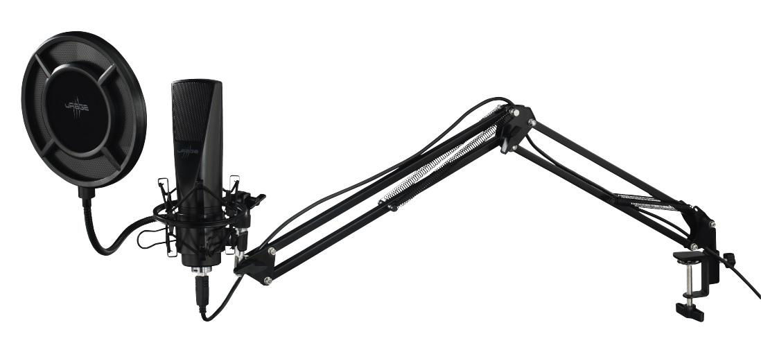 Hama uRage MIC xStr3am Revolution PC Test Kritik Review Titel Mikrofon Mic Aluminium Arm Popschutz Qualität Verarbeitung Pracht