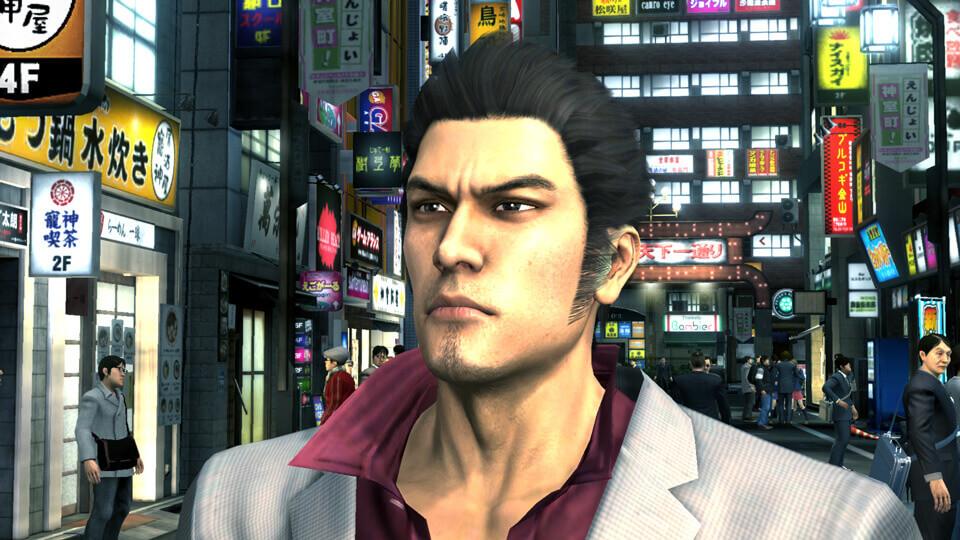 The Yakuza Remastered Collection PS4 Pro Yakuza 3 SEGA Koch Media Hauptcharakter