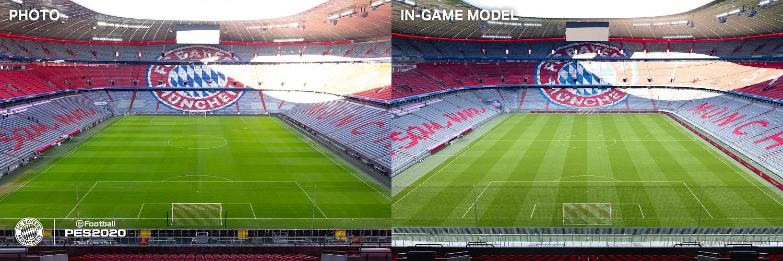 eFootball PES 2020 Pro Evolution Soccer 2020 Konami Fußball Simulation Review Test Kritik PlayStation 4 Pro Xbox One X PC Allianz Arena