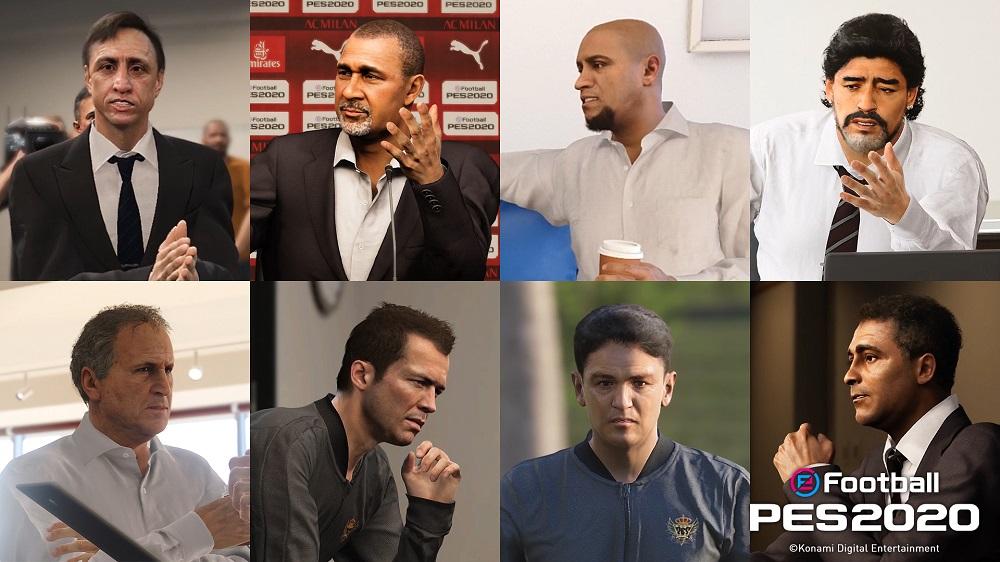 eFootball PES 2020 Pro Evolution Soccer 2020 Konami Fußball Simulation Review Test Kritik PlayStation 4 Pro Xbox One X PC Legenden