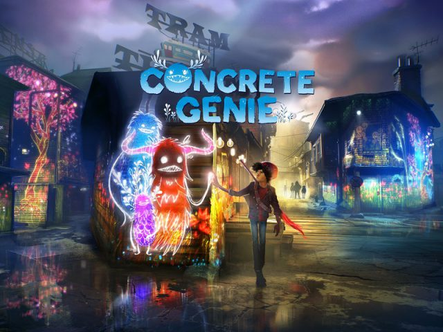 Concrete Genie PS4 Pro Test Review Kritik Gefühle in Videospielen PS VR Kunst Art Pixelopus Titel