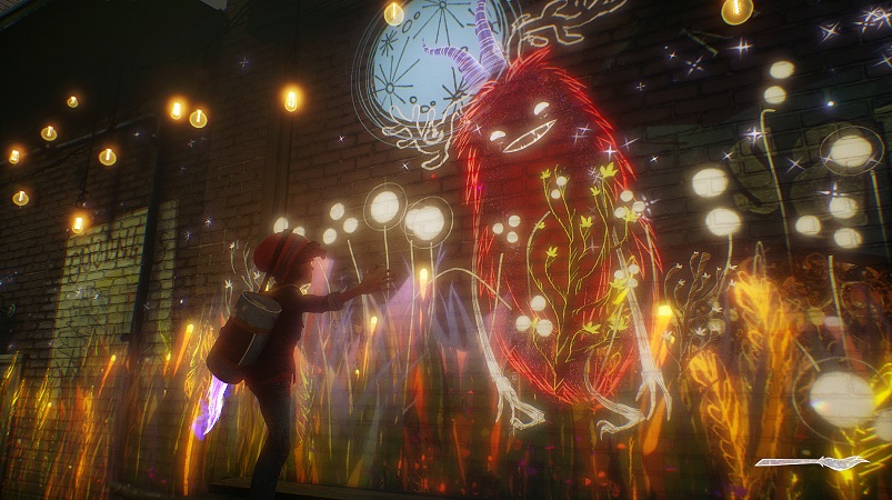 Concrete Genie PS4 Pro Test Review Kritik Gefühle in Videospielen PS VR Kunst Art Pixelopus Freunde
