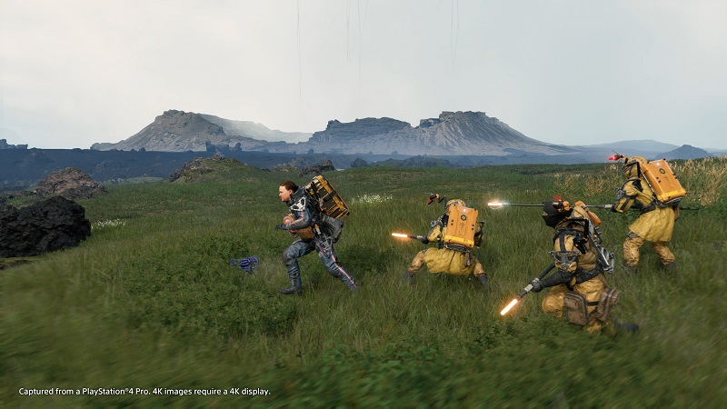 Death Stranding PS4 Pro Review Test Kritik Kojima Productions Hideo Kijima Norman Reedus Mads Mikkelsen Mules