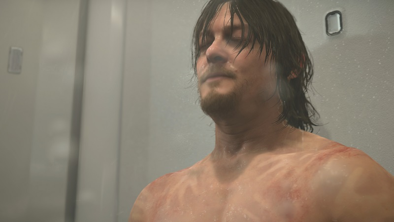 Death Stranding PS4 Pro Review Test Kritik Kojima Productions Hideo Kijima Norman Reedus Mads Mikkelsen Optik