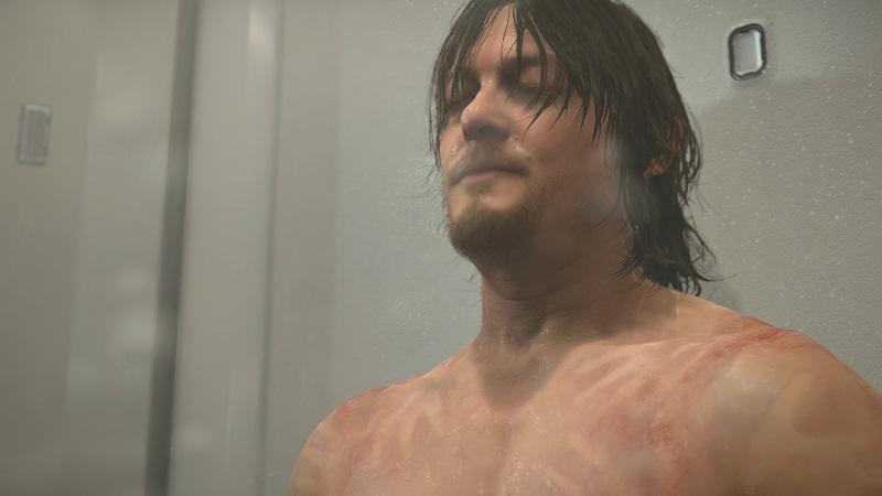 Death Stranding PS4 Pro Review Test Kritik Kojima Productions Hideo Kijima Norman Reedus Mads Mikkelsen Optik
