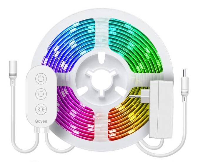 Govee Ambilight Alternative günstig Philips Hue Play Alexa Smart Home App Lighting Beleuchtung Govee Dreamcolor LED Strip Lichtband Wasserdicht
