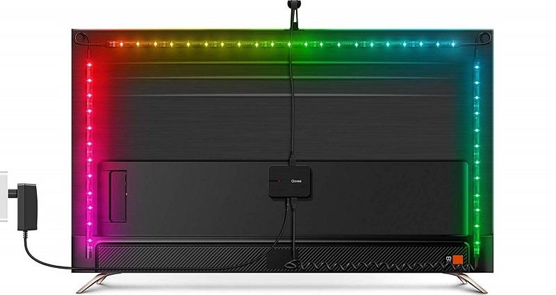 Govee Ambilight Alternative günstig Philips Hue Play Alexa Smart Home Lighting Beleuchtung Anschluss TV