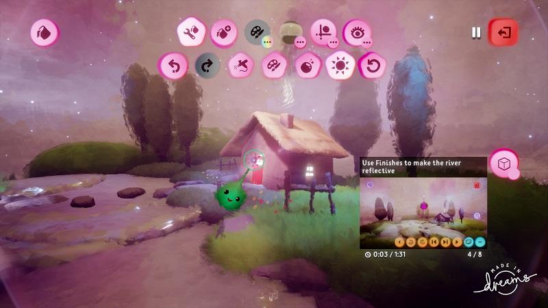 Dreams PlayStation 4 PS4 Pro Media Molecule Review Test Sandbox Create Tutorial