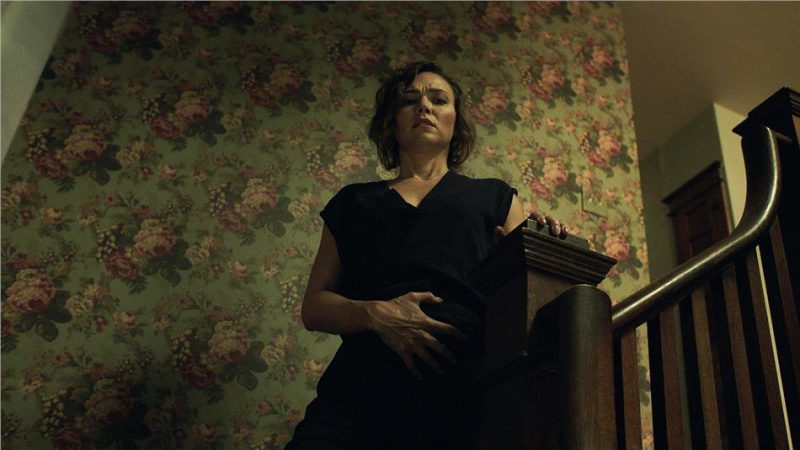 Girl on the Third Floor Kritik Review Haunted House Horror Tiberius Film Heimkino Blu ray DVD Digital Schwanger