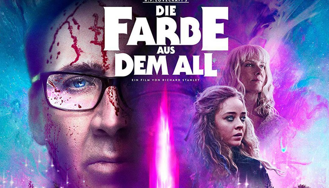 Die Farbe aus dem All Blu-ray Kritik Color Out of Space H.P. Lovecraft Nicolas Cage Titel
