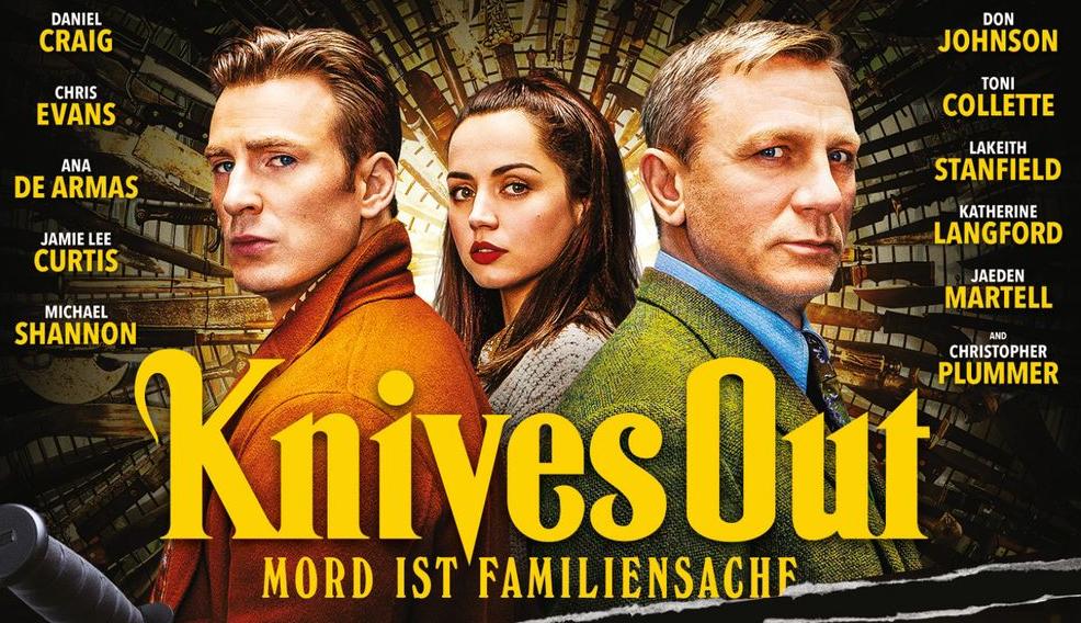Knives Out Kritik Test Review Krimi Daniel Craig Blu-ray DVD