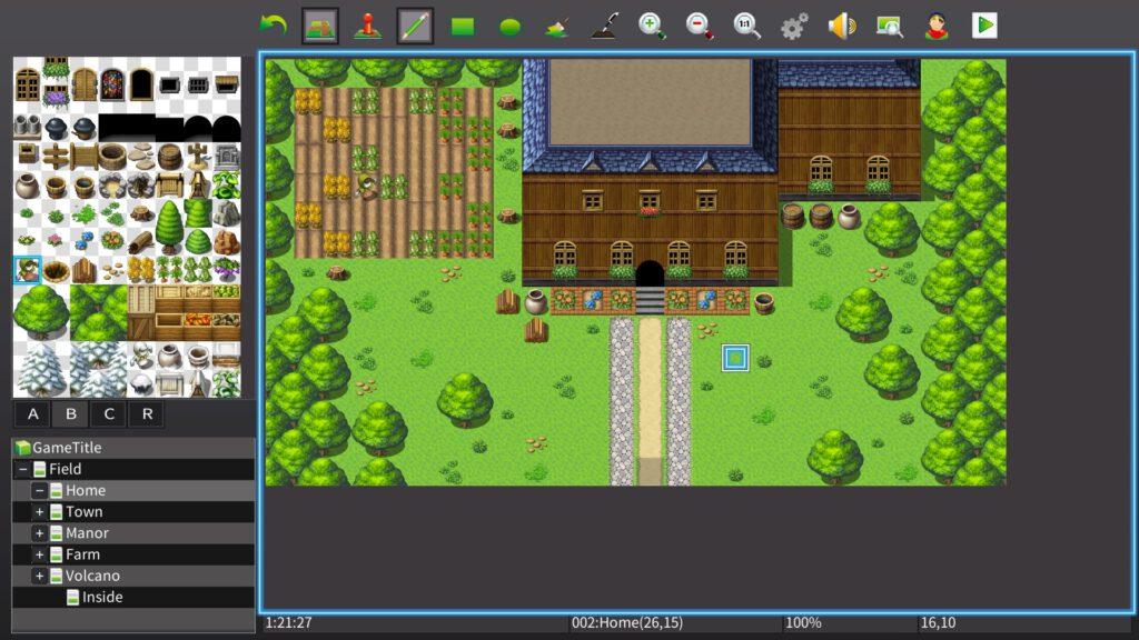 RPG Maker MV Map Maker Karte NIntendo Swtch Review Test Kritik