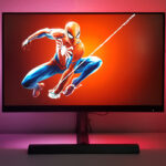 Philips Momentum 278M1R Ambiglow 4K UHD Gaming Monitor Spider-Man Titel