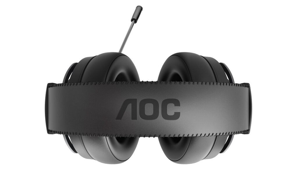 AOC GH200 Gaming-Headset Stereo unter 50 Euro oben