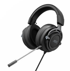 AOC GH200 Gaming-Headset Stereo unter 50 Euro vorn