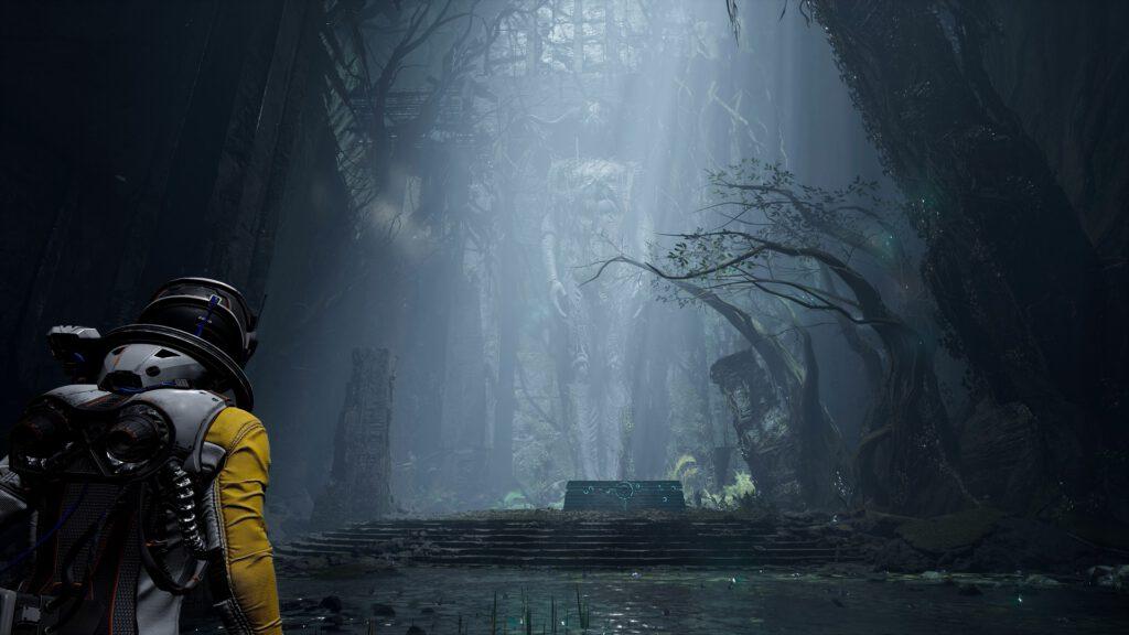 Returnal Housemarque PlayStation 5 PS5 Review Test Kritik Bullet Hell Shooter Roguelike Umwelt