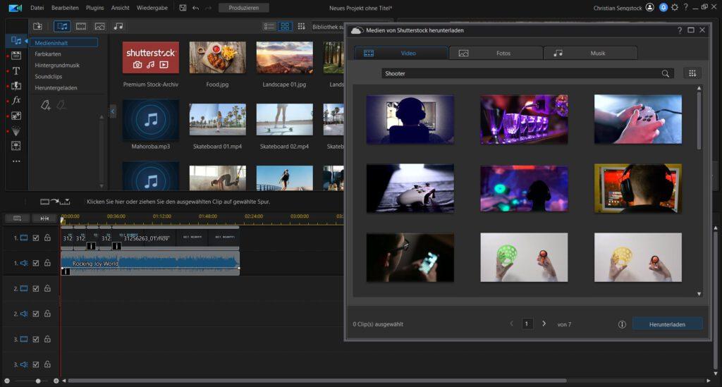 CyberLink Director Suite 365 PowerDirector 365 Review Test Kritik Videobearbeitung