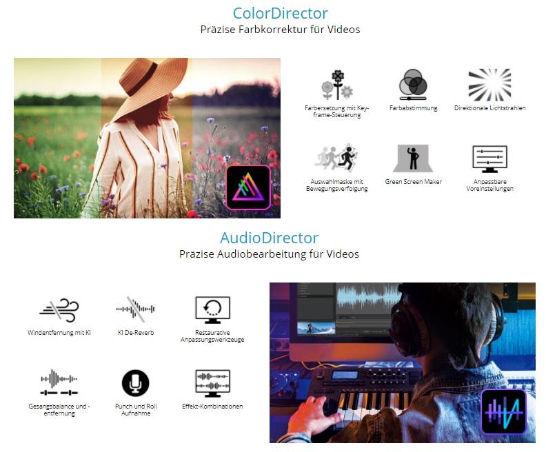 Director Suite 365 CyberLink AudioDirector ColorDirector