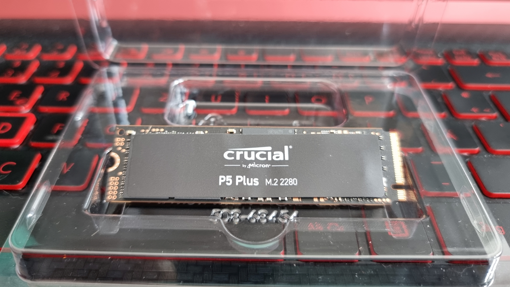 PlayStation 5 M.2 NVME PCIe 4.0 SSD Crucial P5 Plus ohne Kühlkörper
