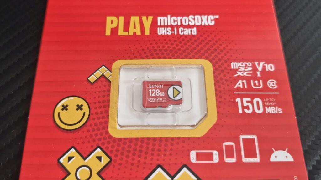 Lexar Play microSD microSD microSDXC UHS-I Tablet Smartphone Nintendo Switch Lite 5