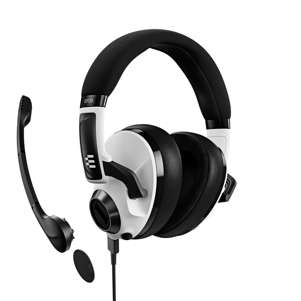 H3 Hybrid Gaming Headset Bluetooth USB 3,5 mm Epos Test Review Kritik Arm