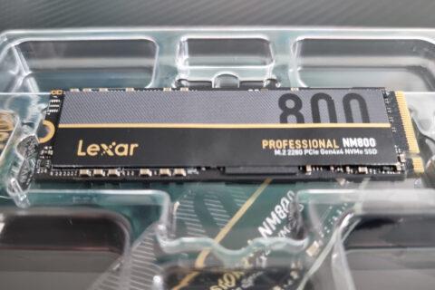 Lexar Professional NM800 M2 2280 PCIe Gen4x4 NVMe SSD PlayStation 5 PS5 Review Test Kritik Ladezeiten Titel